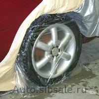 Пластиковые чехлы для колес (одноразовые)Colad