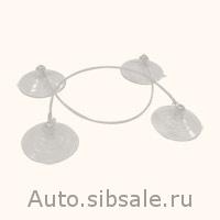 Комплет присосок для фиксации стекол (2 пары)Matequs