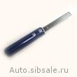 Скрепер с неопреновой ручкой для срезки полиуретана Matequs