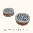Угольный фильтр G100 для респиратора-полумаски Colad